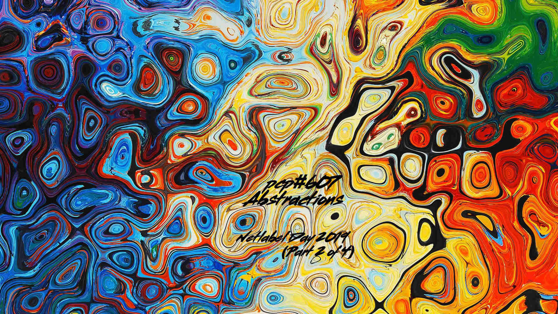 PCP#607... Abstractions... Netlabel Day 2019 (Part 2 of 4)...