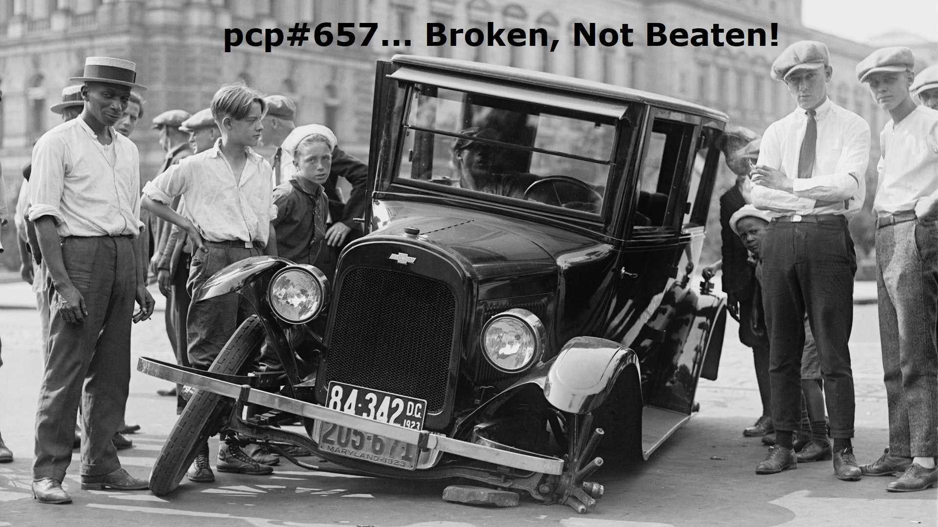 PCP#657… Broken, Not Beaten… (Netlabel Day 2020 Part 3 of 3)