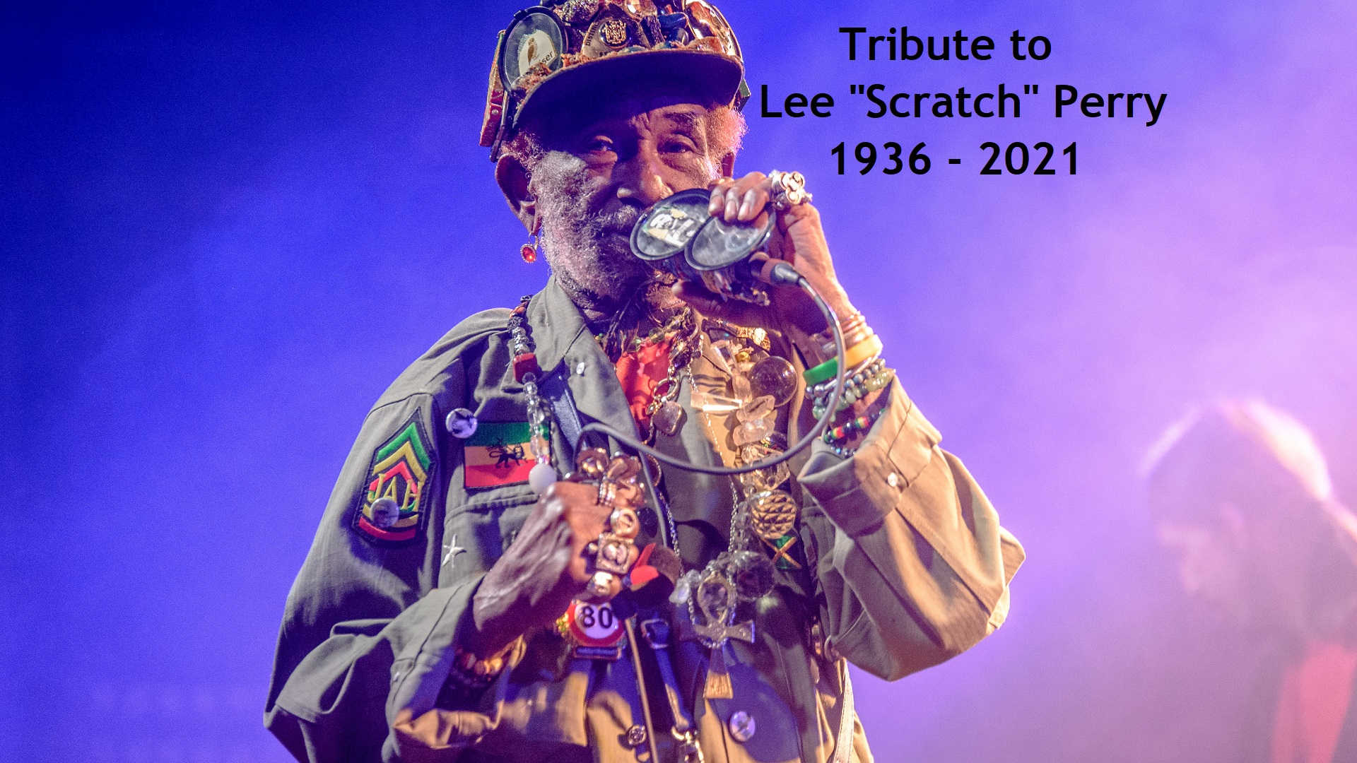 """Tribute to Lee """"Scratch"""" Perry 1936-2021 The image is CC-BY-SA-3.0 by pitpony.photography.de"""
