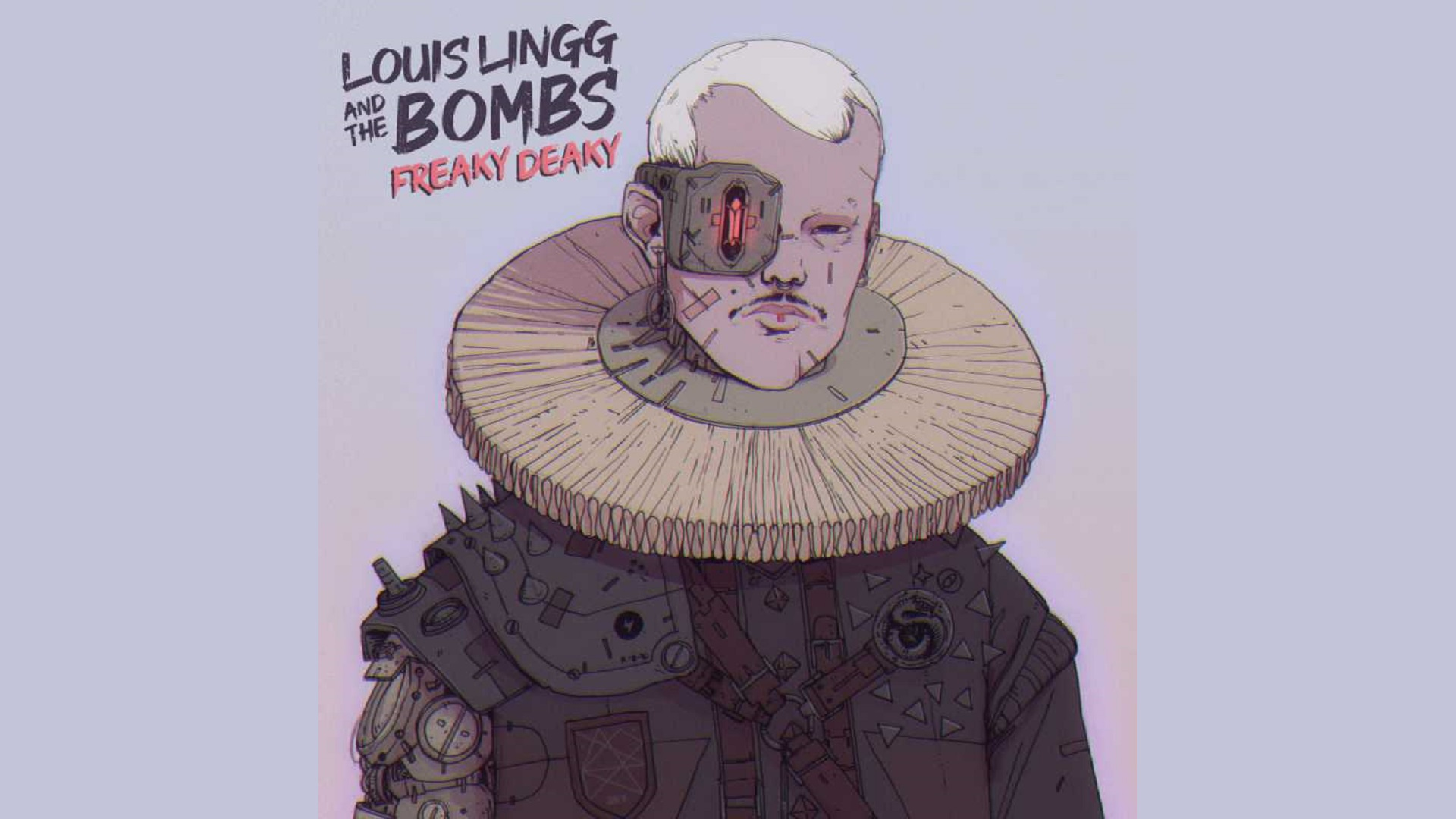 Louis Lingg And The Bombs - Freaky Deaky